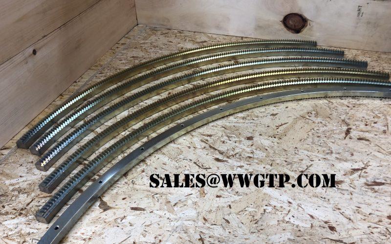 IGV Gear Rack GE Gas Turbine Spare Parts 143B3184P001 143B3184P002 143B3184P003