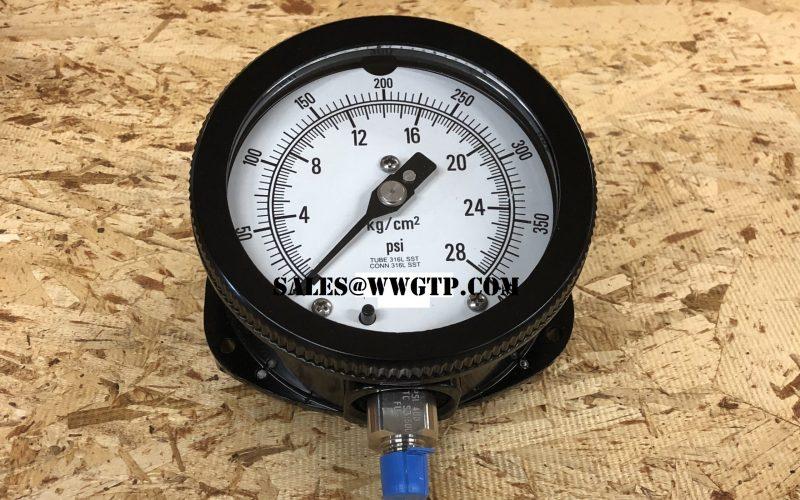 sim to 225A9559P108 Pressure Gauge sim to 225A9559P107 Pressure Gauge