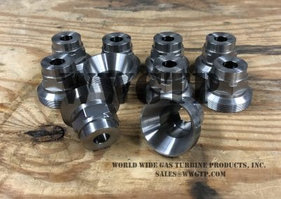 sim to GE P/N 164B1825P001 Fuel Nozzle Cap for Frame 5 Gas Turbine. sales@wwgtp.com