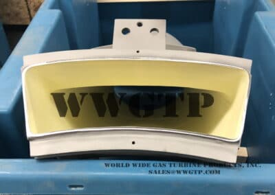 sim to 2066J72001 sim to 2112J32001 Transition Piece for W501D5 Gas Turbine