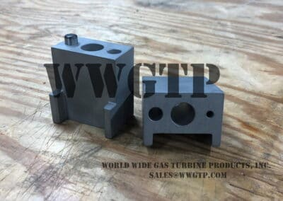 sim to 237B2743G002 Transition Piece Retainer Block.